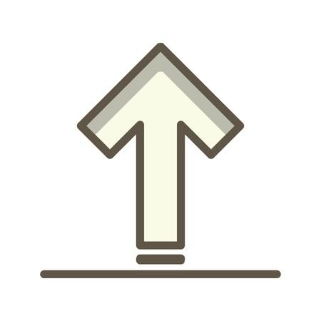 Vector Upload Icon Illustration