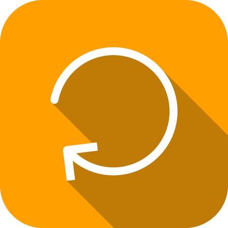 Vector Refresh Icon Ilustração