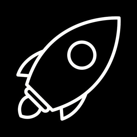 Vector Launch Icon Stock Vector - 114625719