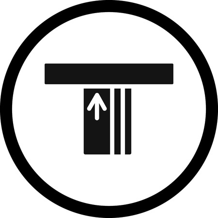 Vector ATM Icon