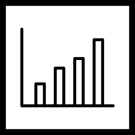 Vector Statistics Icon Ilustração