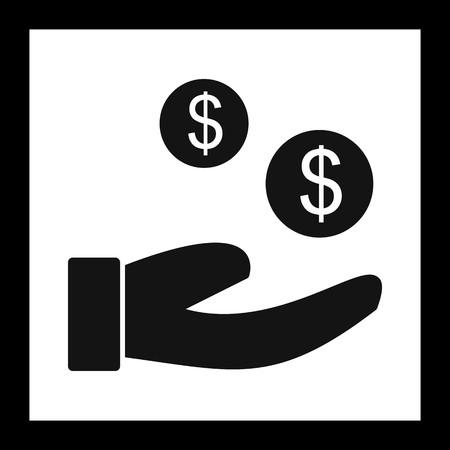 Vector Buyer Icon Vektorové ilustrace