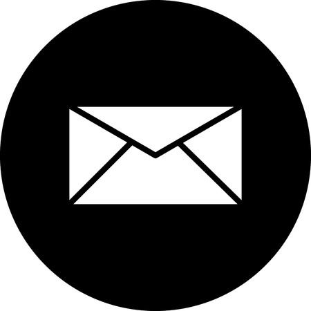 Vector Inbox Icon Ilustrace