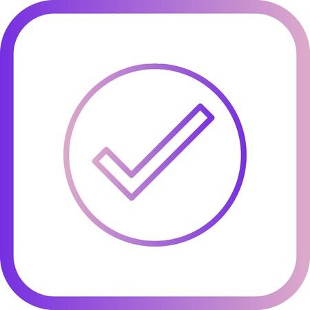 Vector Valid Icon Vecteurs