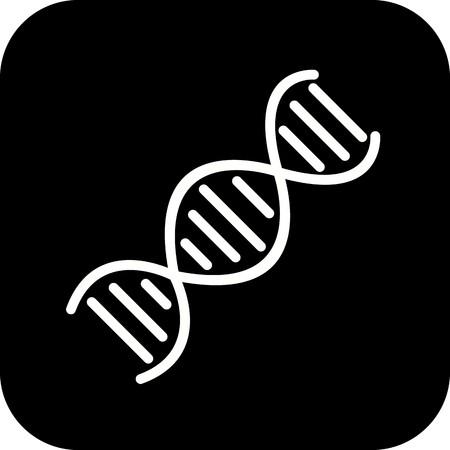 Vector DNA Icon Stock Vector - 126365465