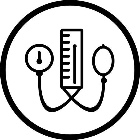 Vector BP Apparatus Icon Illustration