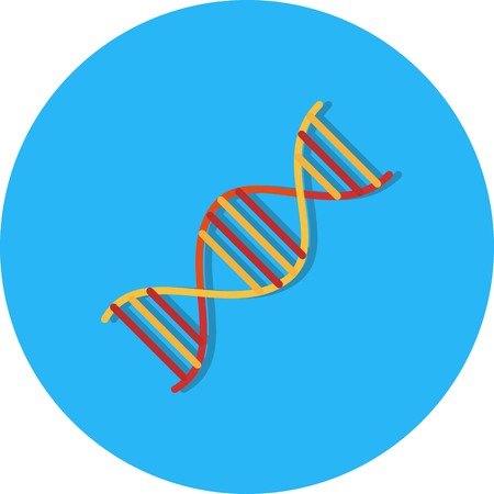 Vector DNA Icon Stock Vector - 126365746