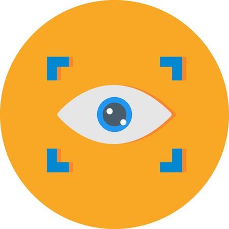 Vector Scan Icon