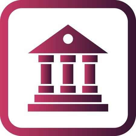 Vector Educational Institute Icon Vectores