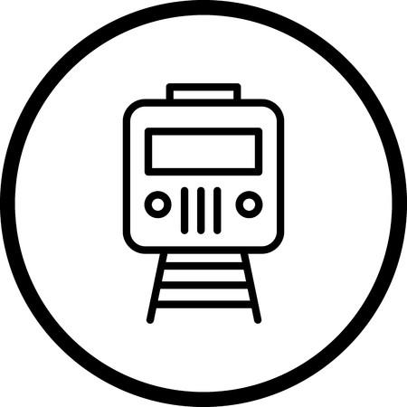 Vector Train Icon