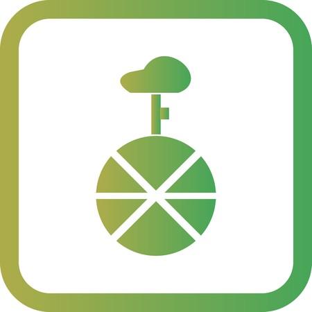 Vector Unicycle Icon