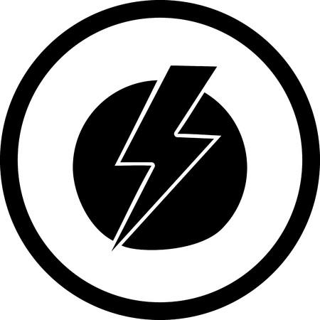 Vector Electric Shock Icon