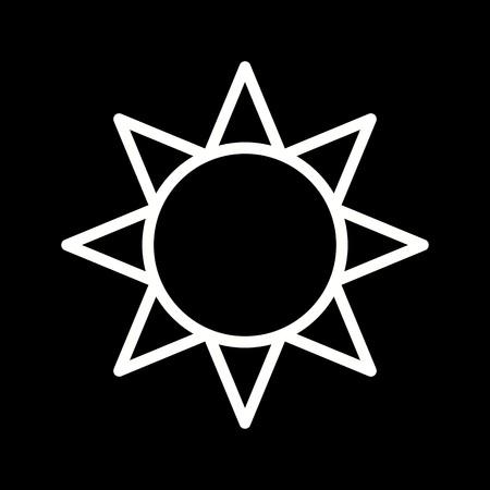 Vector Brightness Icon Ilustración de vector