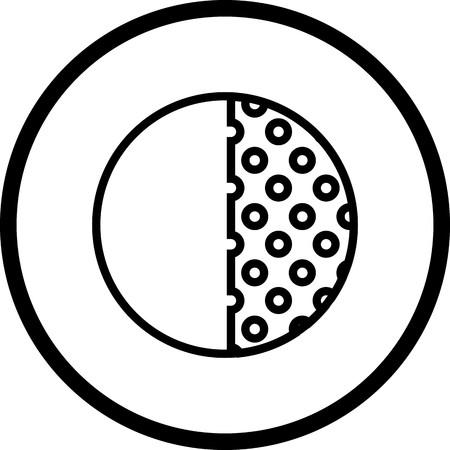 Vector Last Quarter Icon