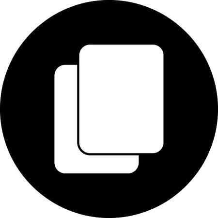 Vector Copy Icon