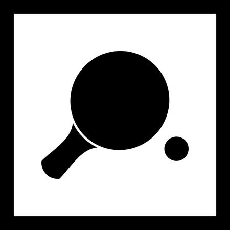 Vector table tennis Icon