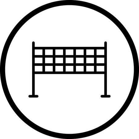 Vector Net Icon Illustration