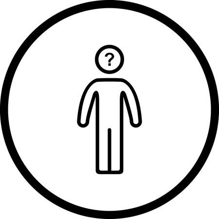 Vector Decision Making Icon Vectores