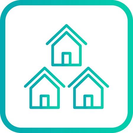 Vector Neighborhood Icon