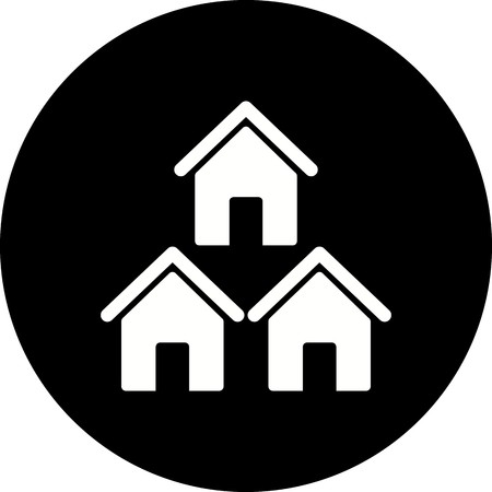 Vector Neighborhood Icon