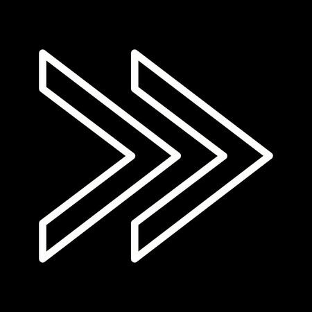 Forward Vector Icon