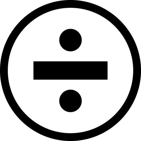 Diviser l'icône de vecteur