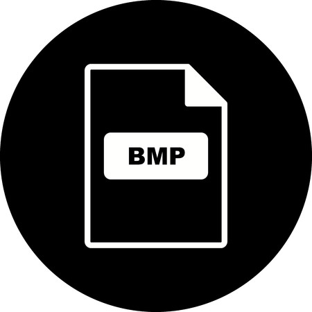 Vector BMP Icon Stock Vector - 116023109