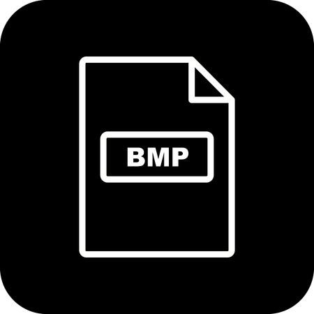 Vector BMP Icon Stock Vector - 116023284
