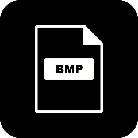 Vector BMP Icon Stock Vector - 116023462