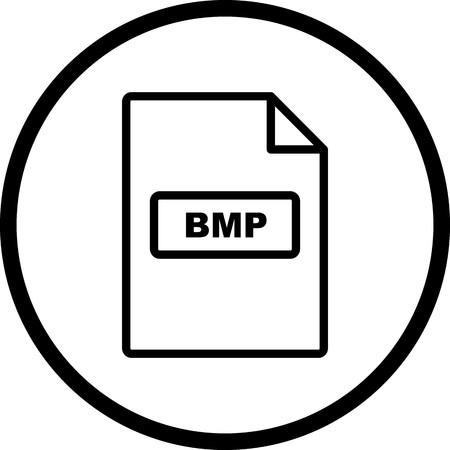 Vector BMP Icon Stock Vector - 116023758