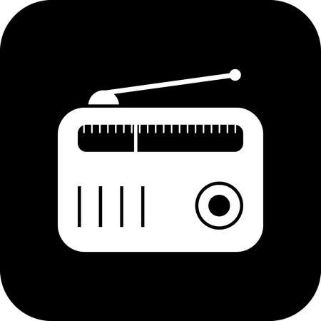 Vector Radio Icon