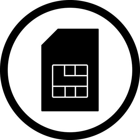 Vector Sim Icon