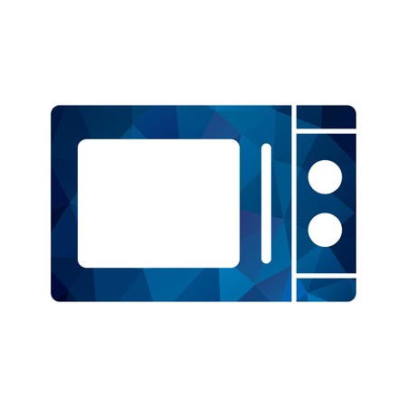 Vector Microwave Oven Icon