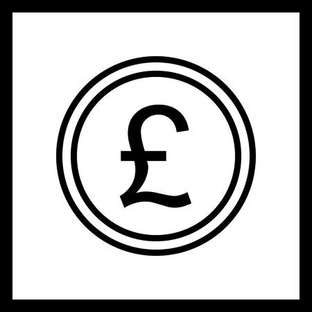 Vector Pound Icon