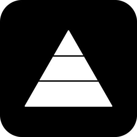 Vector Pyramid Icon