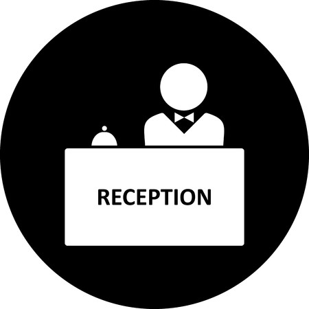 Vector Reception Icon