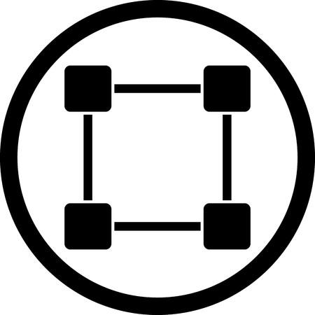 Vector Dragging Icon
