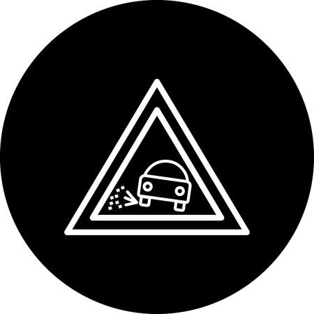 Vector Lose gravel Icon Zdjęcie Seryjne - 116264248