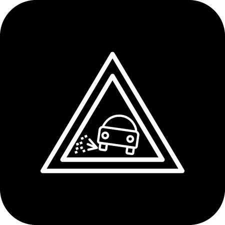 Vector Lose gravel Icon