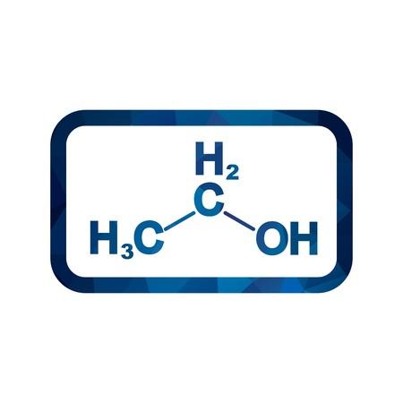 Vector Ethanol Icon Illustration