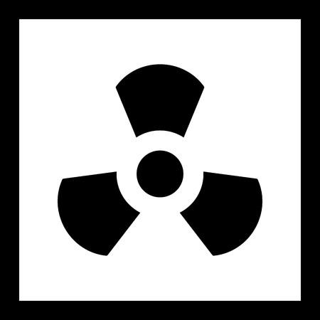 Vector Radiation Icon Ilustração