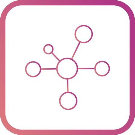 Vector Electron Icon