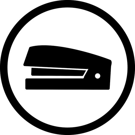 Vector Stapler Icon Vectores