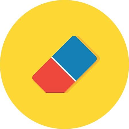 Vector Eraser Icon