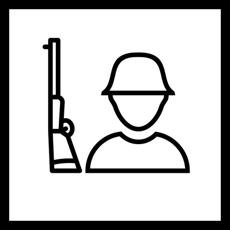 Vector Solider Icon