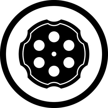 Vector Chamber Icon Vektoros illusztráció