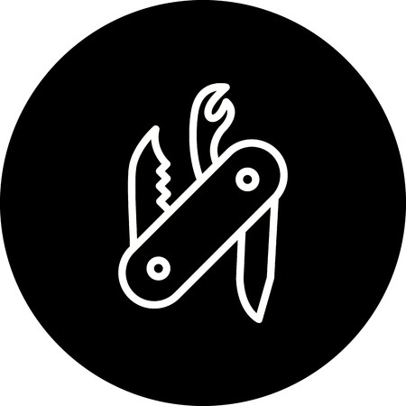 Vector Swiss Army Knife Icon