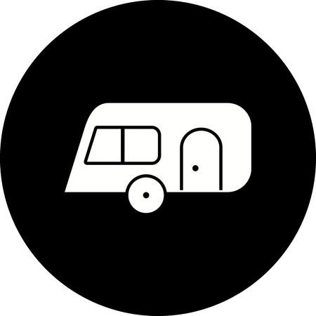 Vector Caravan Icon