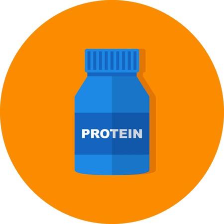Vector Protein Icon
