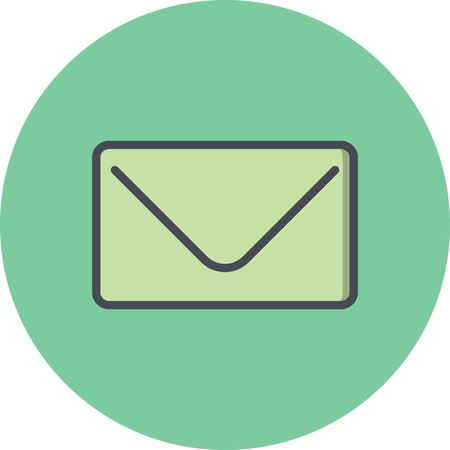 Vector Envelope Icon Ilustrace